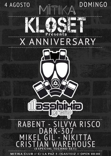 Kloset X Anniversary - Fiesta día 4